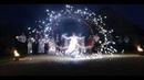 Uguns Šovs - video no priekšnesuma ''Space'