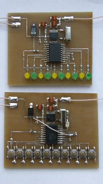 Схемы на микроконтроллерах в