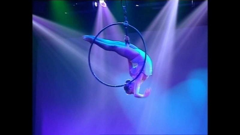 Aerial Contortion in Flying Ring, Maria Margiyeva