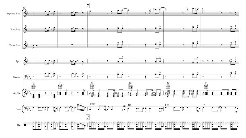 🎺 Get Lucky - Brass Band Sheet Music