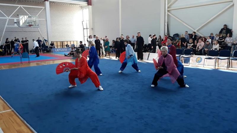 The 5th Lithuanian Open Wushu Championship, group events, Ying-Yang Taichi school