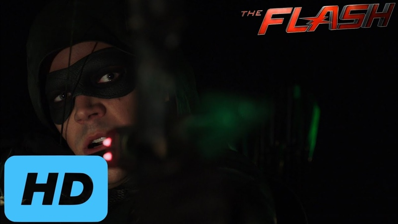 Elseworlds Part 1 - Superman, Supergirl, Barry Oliver Vs AMAZO (Part 2) | The Flash 5x09 [Full HD]