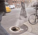 Для рекламы американского кофе Folgers в Нью-Йорке…
