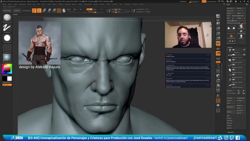 [ES-MX] José Rosales - Conceptualización de Personajes y Criaturas para Producci