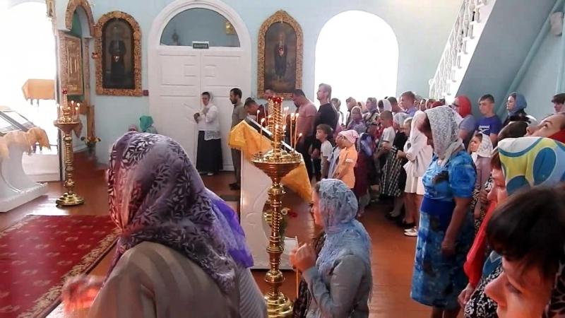 Служба в Церкви - 26 августа 2018 года! По завершении Молебен на начало учебного года!