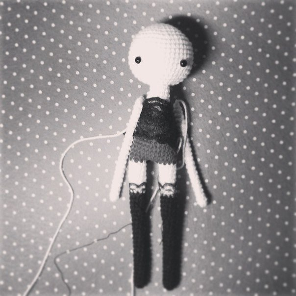 making new doll #amigurumi