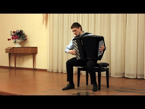 Na Yun Kin: Concert Fantasy on Russian Folk Song / На Юн Кин: Под окном черемуха ACCORDION Zharikov
