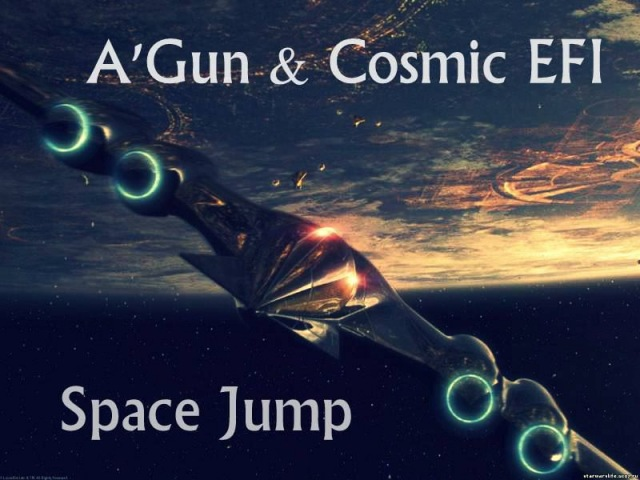 A'Gun & Cosmic EFI - Spaсe Jump