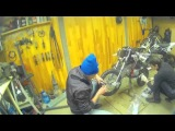 Сборка питбайка YCF R-START TROY BLANCHE 125 14/12