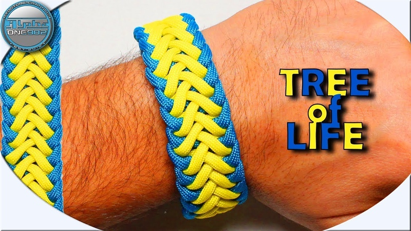 World of Paracord How to make Paracord Bracelet TREE of LIFE modified DIY Paracord Tutorial by Cetus