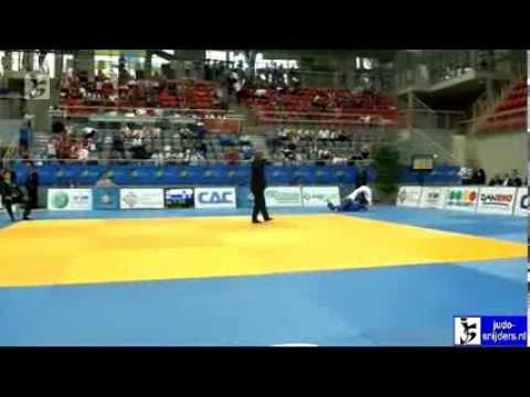 Judo 2012 European Championships Juniors Porec: Kunitz (GER) - Dmitrieva (RUS) [-48kg] rep