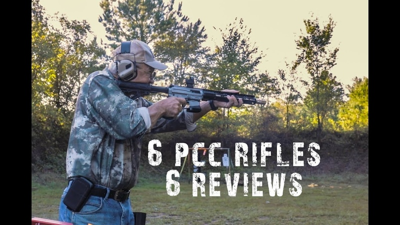 Review of 6 PCC Rifles - Part 2 Range Day