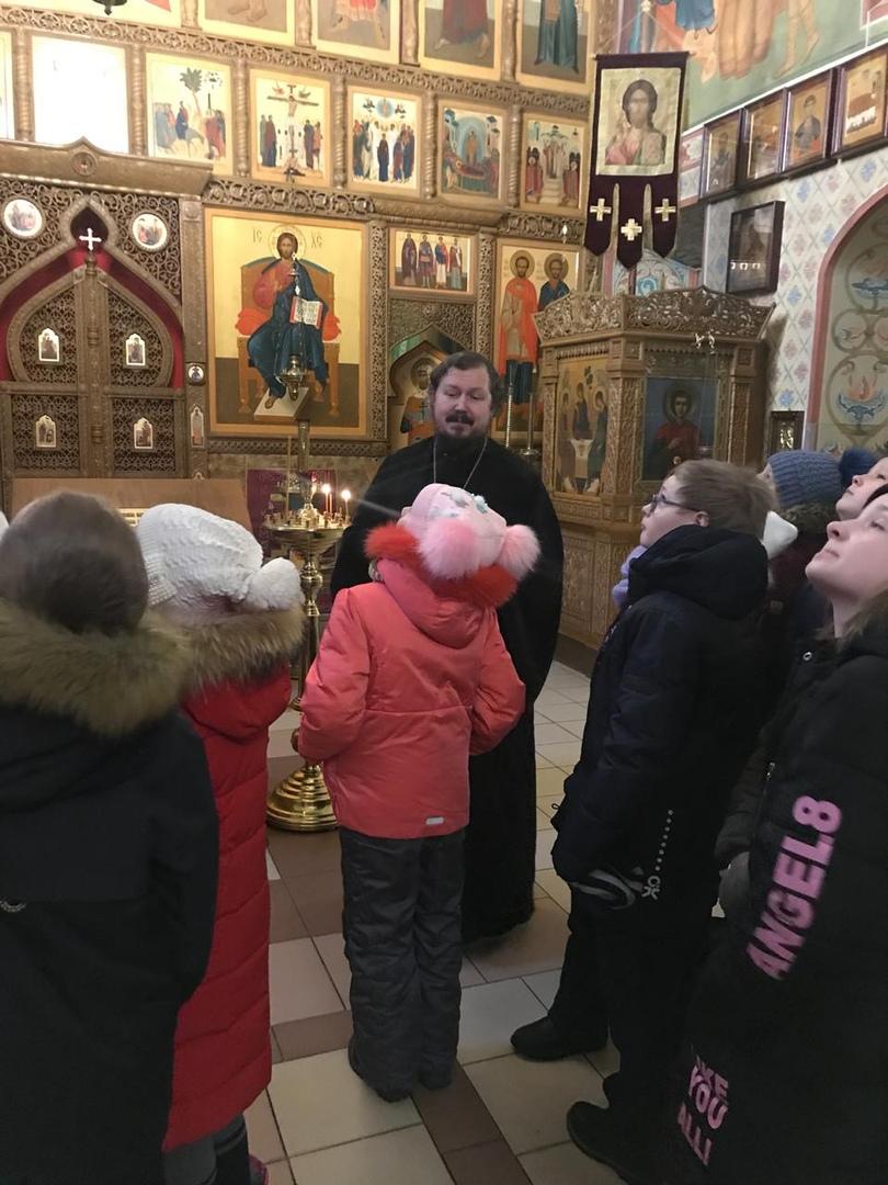 Экскурсия по храму святых Космы и Дамиана