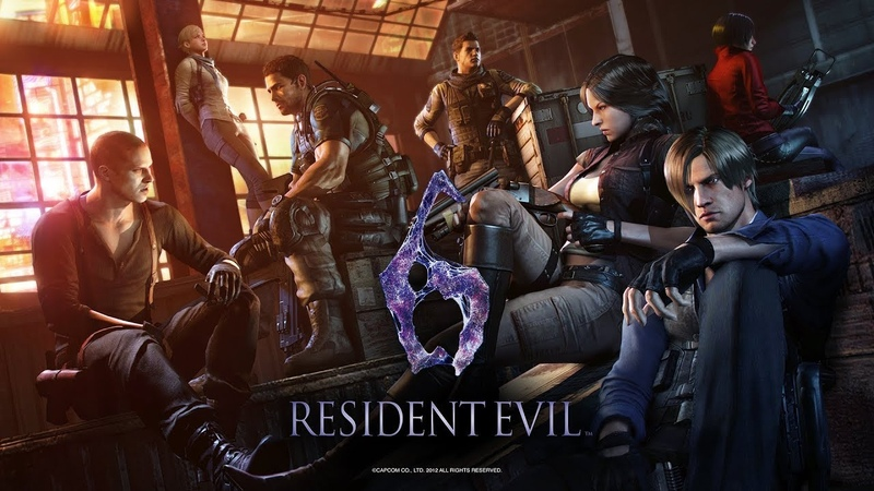 Resident Evil 6 (Yettich) часть 9 - Минус Гарнитура, Минус Уши
