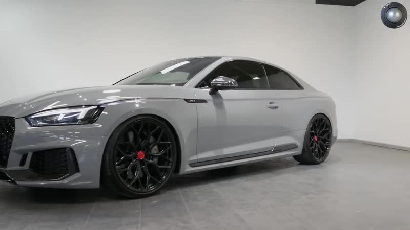 Audi RS5 in Nardo Grey on 21 Vossens by Blitzer Productions