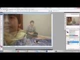 как в фотошопе сделать клона  (двойника, блезнеца) с помощью Adobe Photoshop CS3