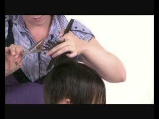 Креативная мужская стрижка. Men's creative hairstyle