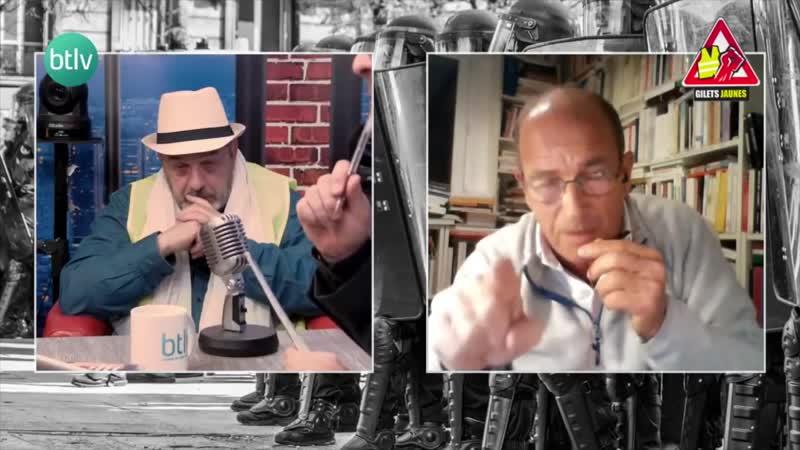 Etienne CHOUARD ébloui par les Gilets Jaunes – RIC, Assemblée Constituante_ un formidable espoir