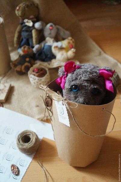 МК Простая упаковочка для игрушки за 10 минут… (10 фото) - картинка