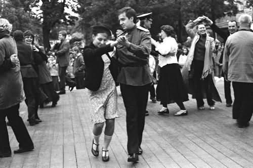 танцы 40 х годов, реконструкция