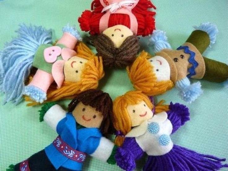 Куклы своими руками с дошкольниками