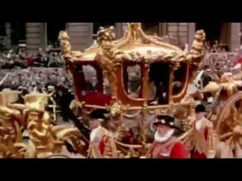 HISTORY Amazing The Coronation Of Her Majesty Queen Elizabeth II on Feb 5 1953 Colourized
