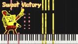 Sweet Victory - SpongeBob SquarePants Piano Tutorial (Synthesia) Mr.Meeseeks Piano