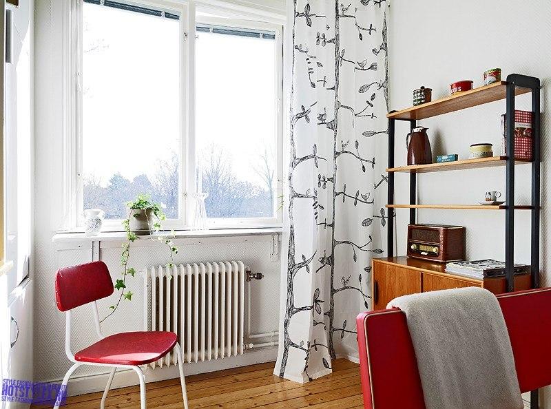 Интерьер маленькой гостиной комнаты