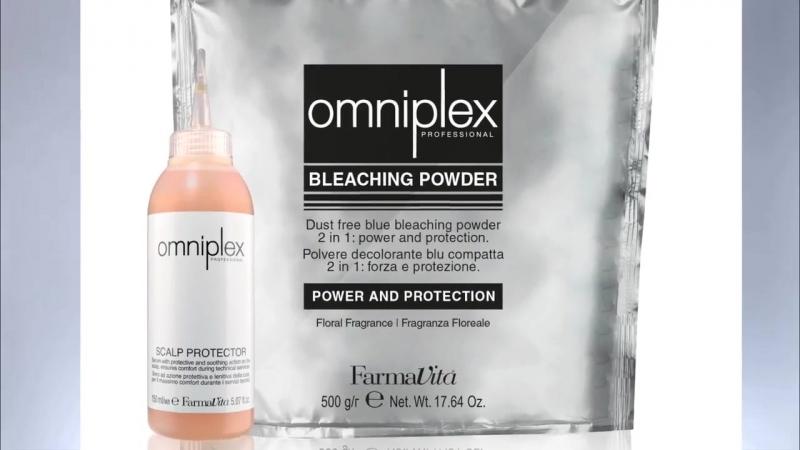 Farmavita Omniplex Bleach Powder Scalp Protector tutorial