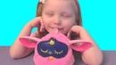 ФЁРБИ АЛИСА. Обзор интерактивной игрушки Ферби Коннект ( Furby Connect ) от Hasbro на русском языке