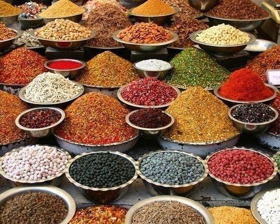 люди, специи из индийских товаров другой
