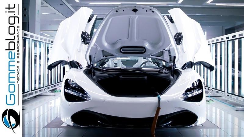 McLaren Automotive - HOW ITS MADE a Supercar - PRODUCTION FACTORY