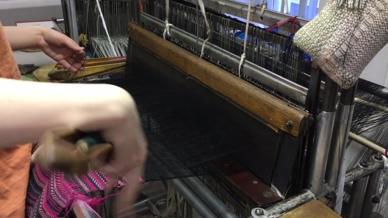 Ручное ткачество экоакция