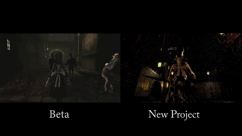Alice: FP / Comparison between my Old Project and the Beta Version