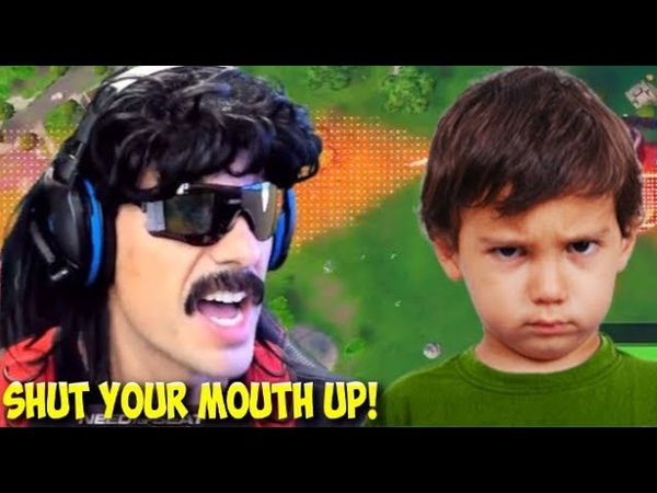DrDisRespect Tells Kid to SHUT UP in Fortnite Random Duos (8618) (1080p60)