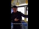 Крейг Дэвид в автобусе