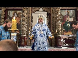Проповедь митрополита Марка. Успение
