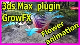 Magic flower Motion tracking plugin growfx Boujou to 3ds max Boujou tracking