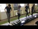 Despacito - Luis Fonsi Music On Piano Dance