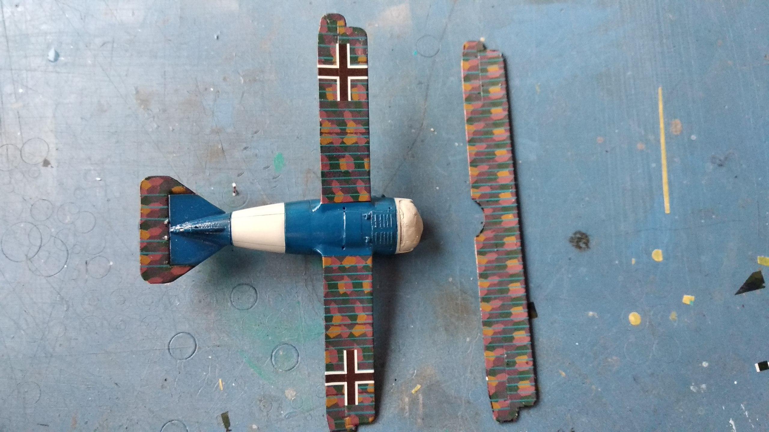 Siemens-Schuckert D.III D.IV 1/72 (ВЭ)  3ClREcc7m88