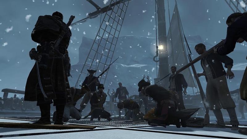 Assassins Creed Rogue часть 06 холодная огонь пройдена миссия