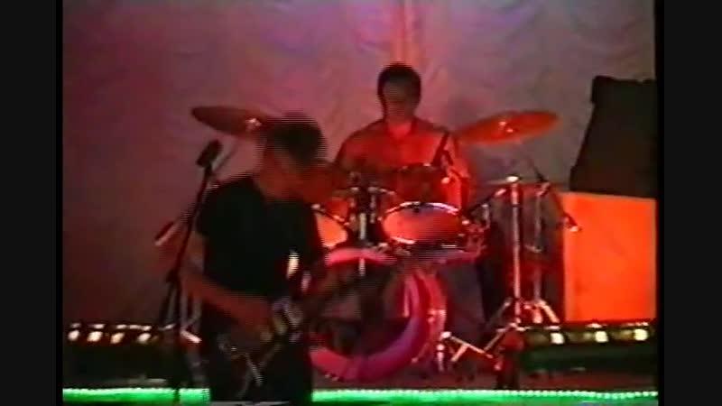 Группа Тишина на фестивале Рок атака 2001 г Радужный
