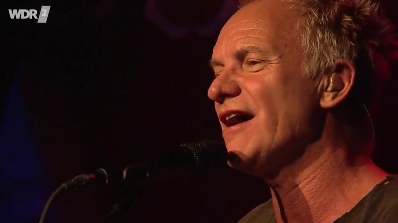 Sting Shaggy - Shape Of My Heart [LIVE]