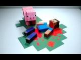 Майнкрафт с Модами Выживание с Динозаврами Друзьями и Девушками - 1 серия Minecraft