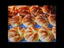 ТУРЕЦКИЕ рогалики с брынзой и творогом Рогалики рецепт Выпечка рецепты Рогалики тесто