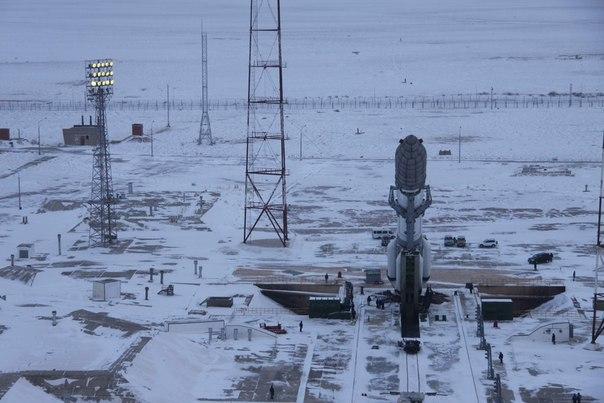 Вывоз РКН Протон-М с КА Экспресс-АМ5