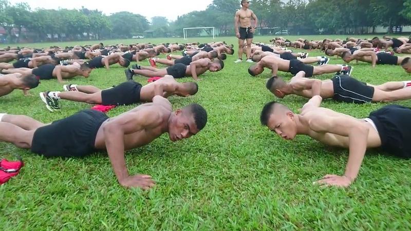 Latihan ala Spartan Komando Sparko Eka Wira