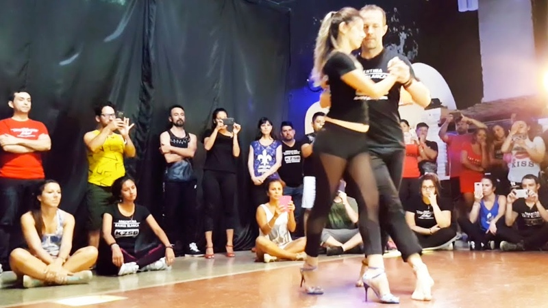 Kizomba Fusion - After Class Demo - Kristofer Yesica - Bahía Blanca, Argentina