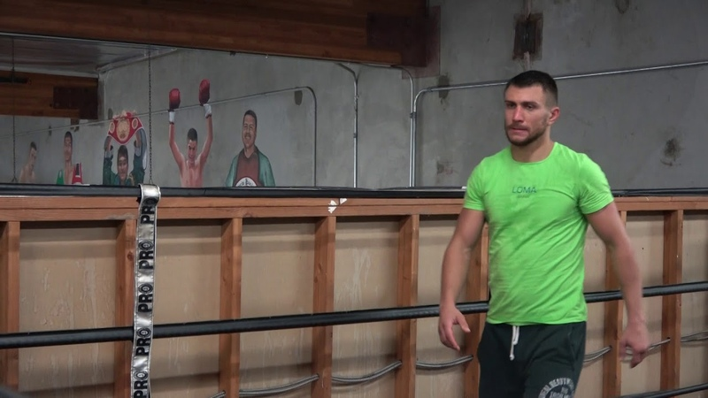 Lomachenko After Sparring And Boxing Work Out EsNews Boxing