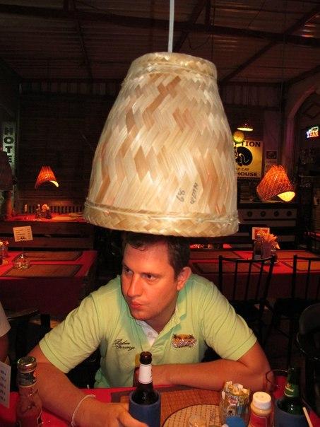 Лампа в отеле Fat Cat, Хуа-Хин